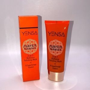 2/$65 YENSA Pumpkin Turmeric 2-in-1 Radiance Mask
